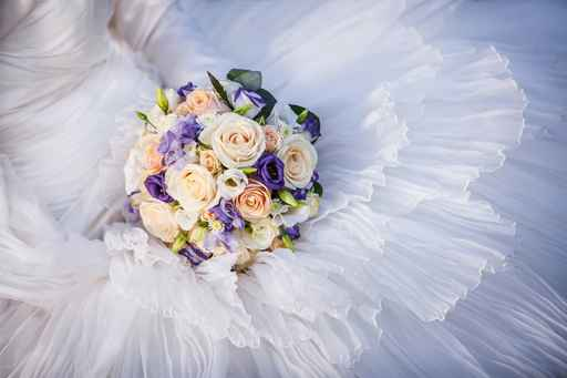 Wedding Bouquet Close Up